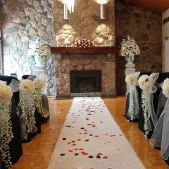 Fireplacewedding